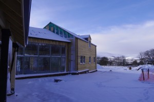 Self Build in the Snow