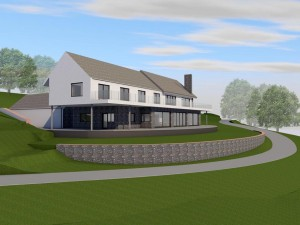 3D Digital Image of Self Build Home