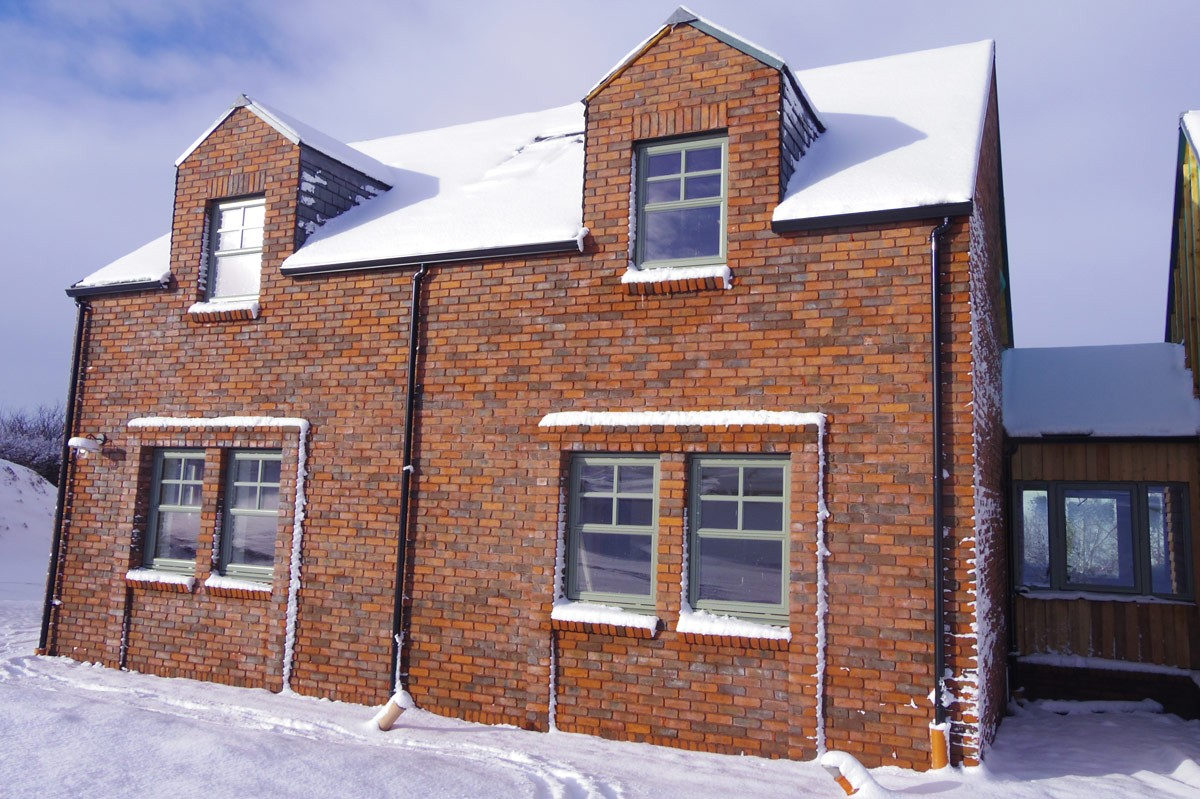 Self Build Sips Home Biggar Scottish Borders