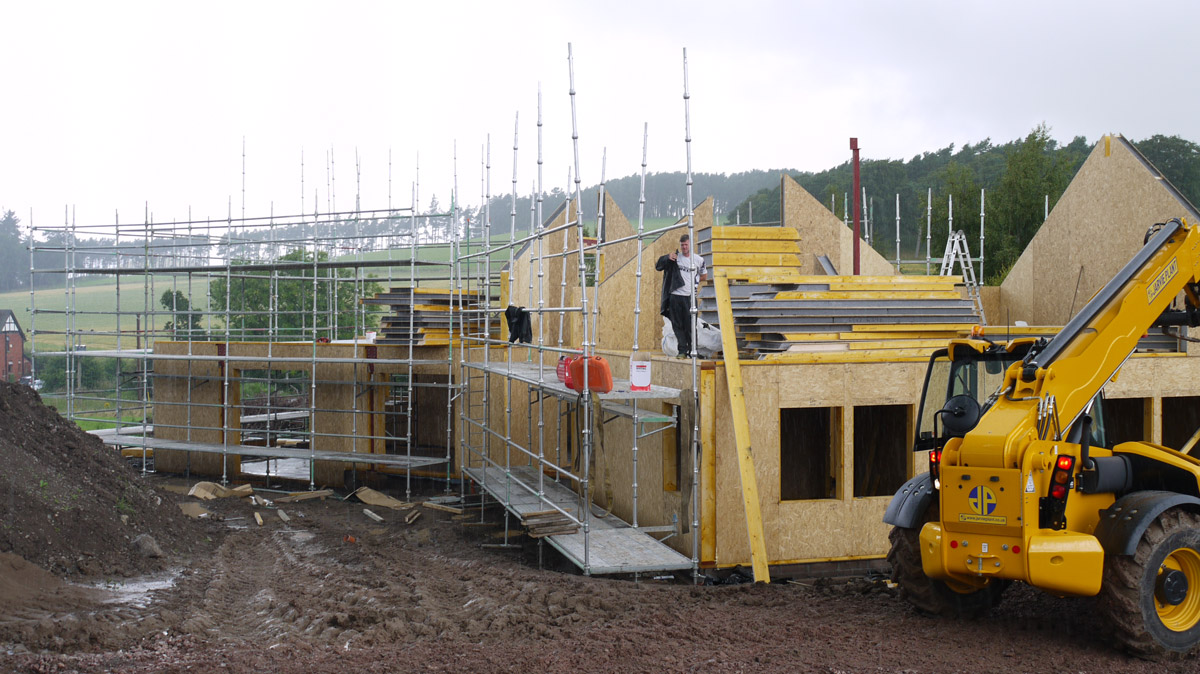 Self Build Under Construction