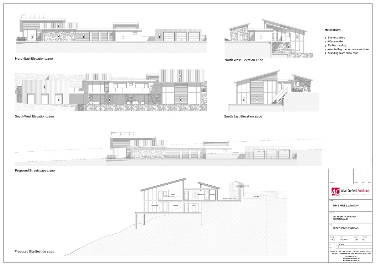 Existing Drawing - House Extension ACA