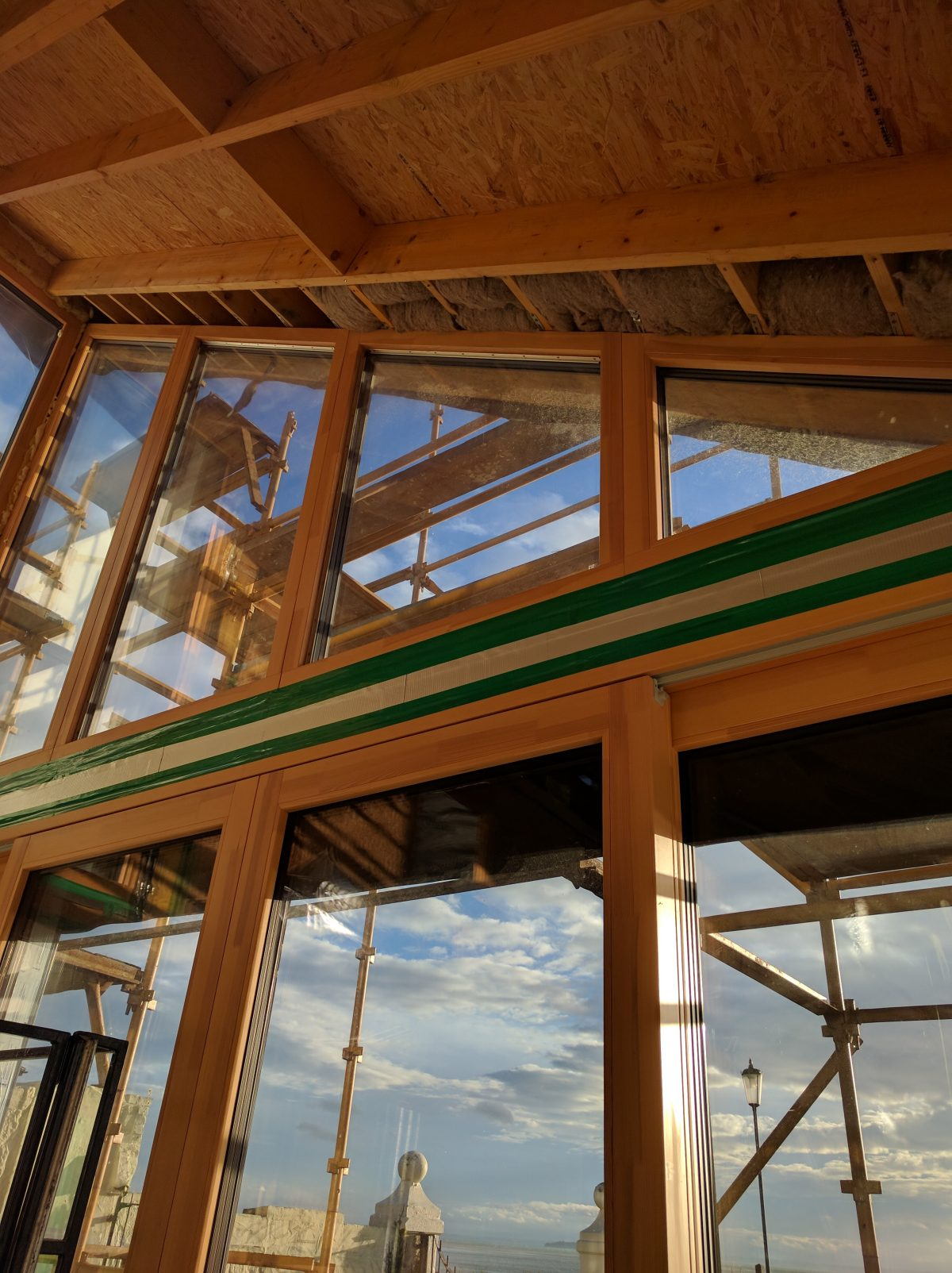 Passive stack eco house