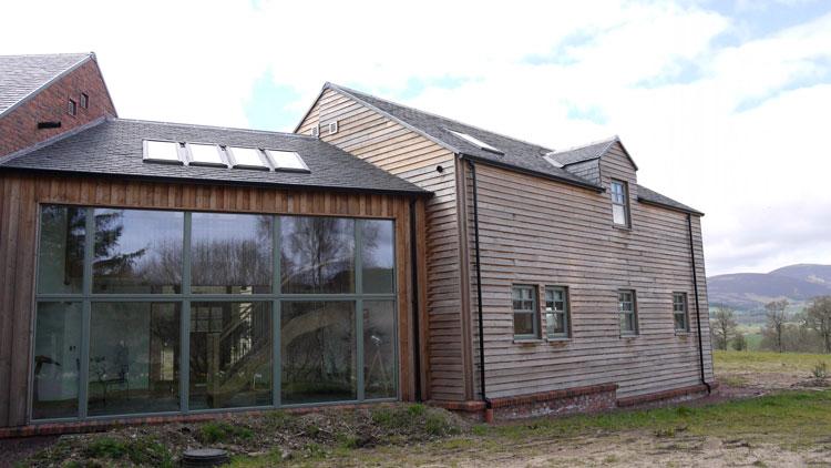 Self Build Sips Home Biggar Scottish Borders