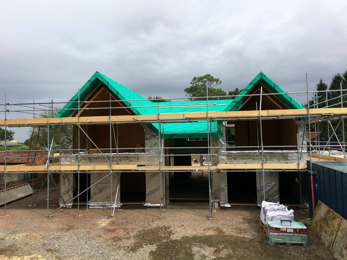 SIPS Whepstead Self Build home suffolk