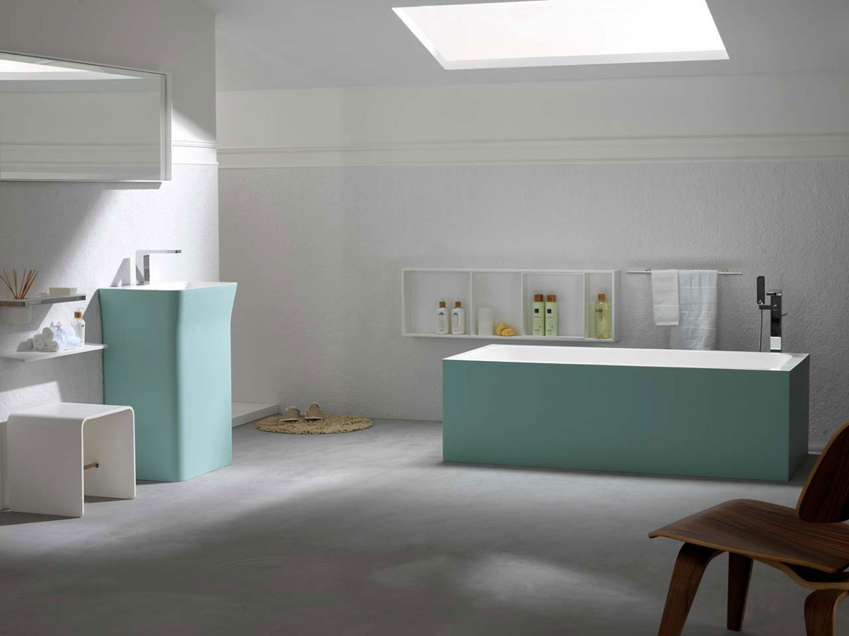 Krion by porcelanosa new generation solid surface for Porcelanosa salle de bain