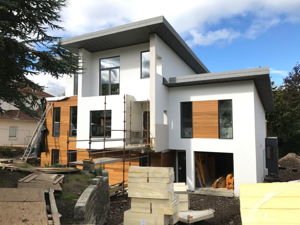 Render and timber front 2 Edinburgh