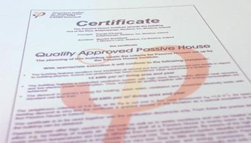 PH Certificationrs ACA Passive house