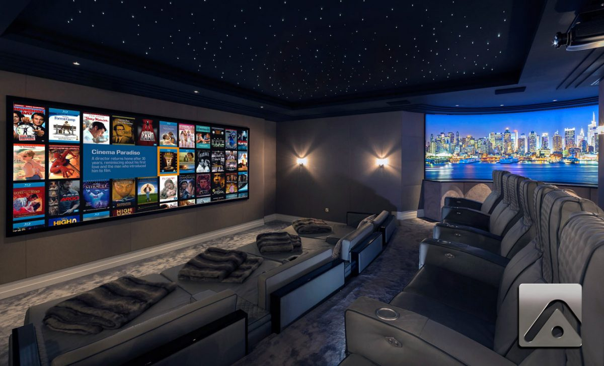 home cinema adept is aca self build