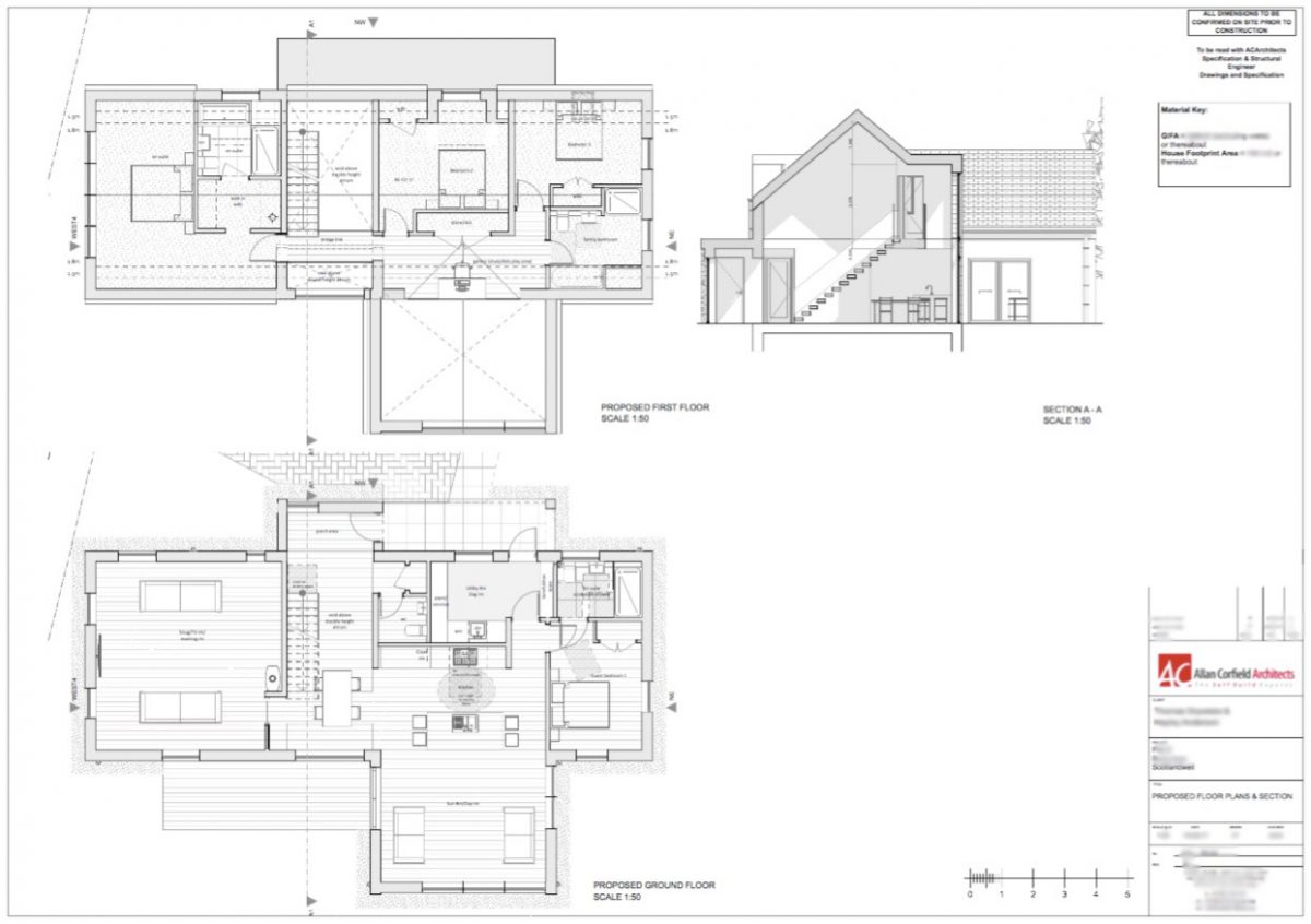 Scotlandwell Self Build home ACA