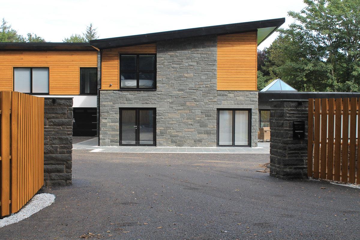 eco-house perthshire